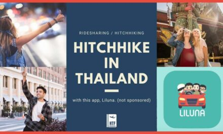 Ride sharing / HITCHHIKING / carpooling in Thailand Easy with Liluna Application